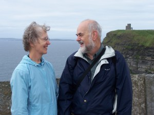 John and Jane at Cliffs of Mohr